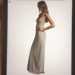 James Perse grey Maxi dress 4